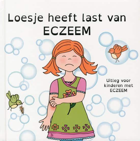 loesje heeft last van eczeem kinder boek